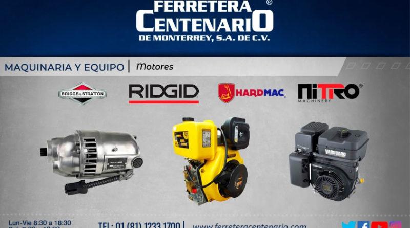 motores ridgid hardmac nitro briggs&stratton ferretera centenario monterrey mexico maquinas maquinaria equipos