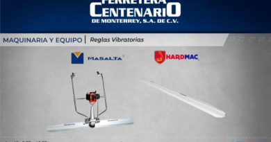 reglas vibratorias equipos maquinaria maquinas ferretera centenario monterrey mexico