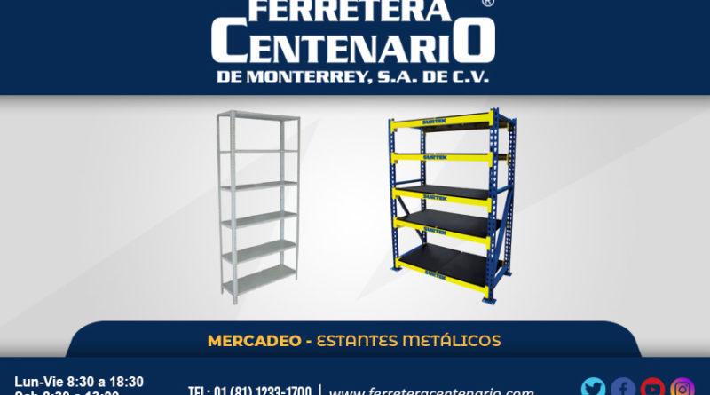 estantes metalicos mercadeo ferretera centenario monterrey mexico surtek