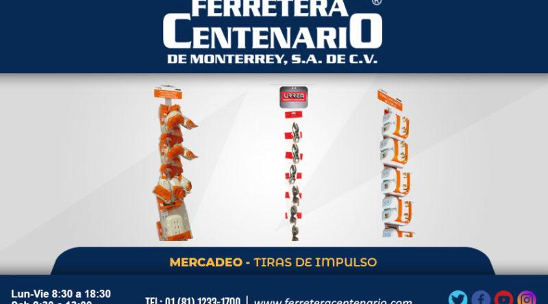 TIRAS IMPULSO » Tienda de Herramientas - Ferretera Centenario - La Ferretería más grande de Monterrey