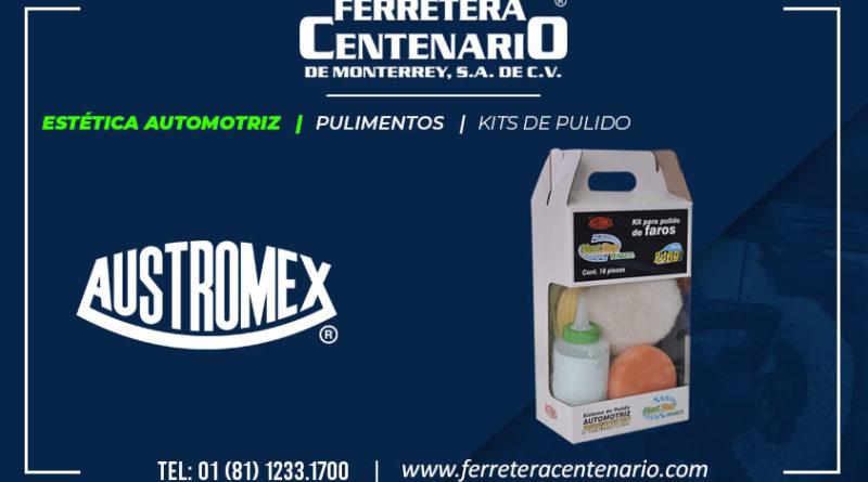 kits pulido estetica automotriz Austromex pulimentos ferretera centenario monterrey mexico
