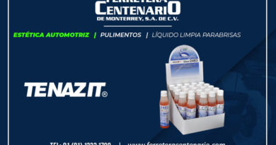 liquido limpia parabrisas pulimentos estetica automotriz ferretera centenario monterrey mexico