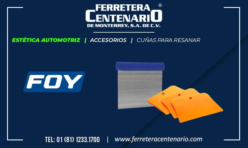 cuña para resanar ferretera centenario monterrey mexico Foy