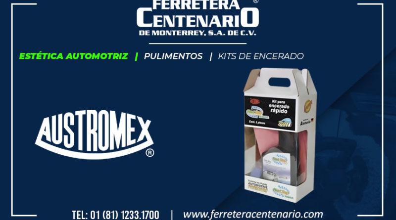 kit encerado estetica automotriz ferretera centenario monterrey mexico austromex