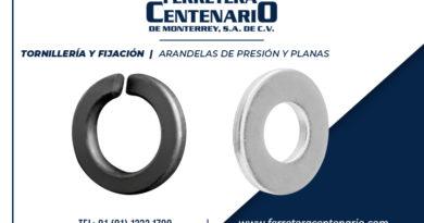 arandelas presion planas ferretera centenario monterrey mexico tornilleria fijacion