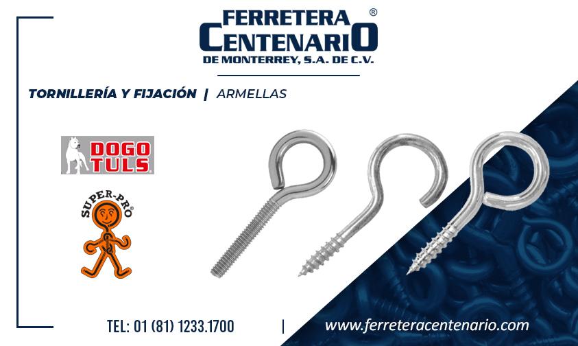 armella tornilleria fijacion dogotuls superpro ferretera centenario monterrey mexico