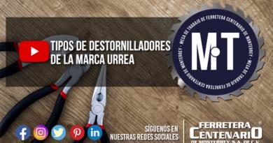 Mesa de trabajo ferretera centenario monterrey mexico youtube videos tipos destornilladores urrea