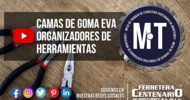 goma eva organizador herramientas ferretera centenario monterrey mexico