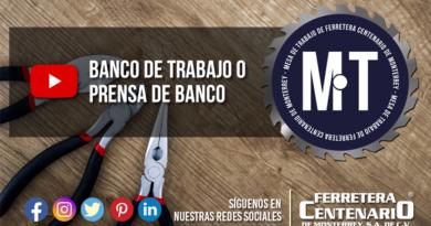 banco de trabajo prensa de banco Urrea BT900