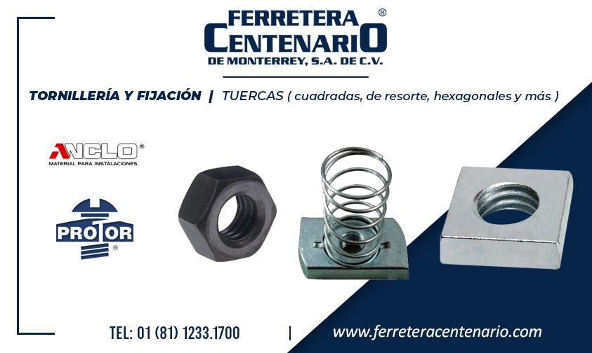 tuercas » Tienda de Herramientas - Ferretera Centenario - La Ferretería más grande de Monterrey