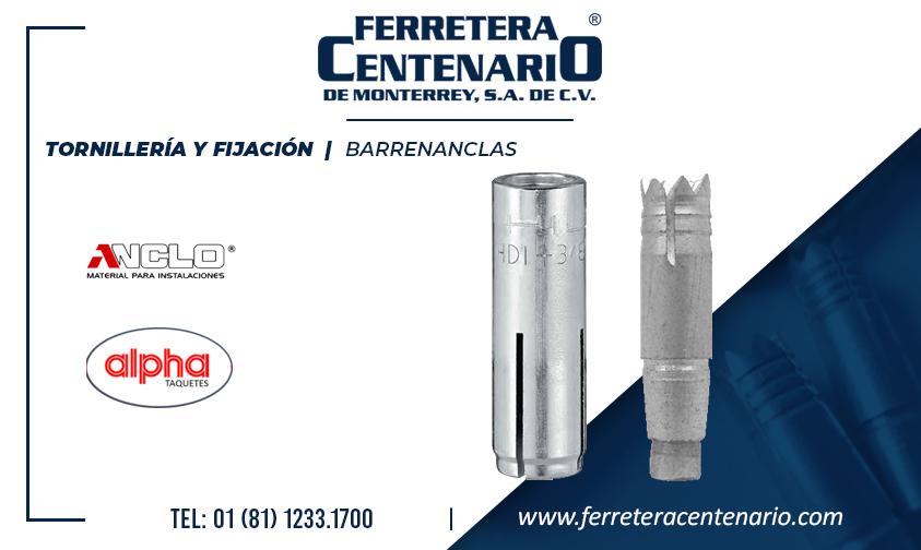 barrenanclas » Tienda de Herramientas - Ferretera Centenario - La Ferretería más grande de Monterrey