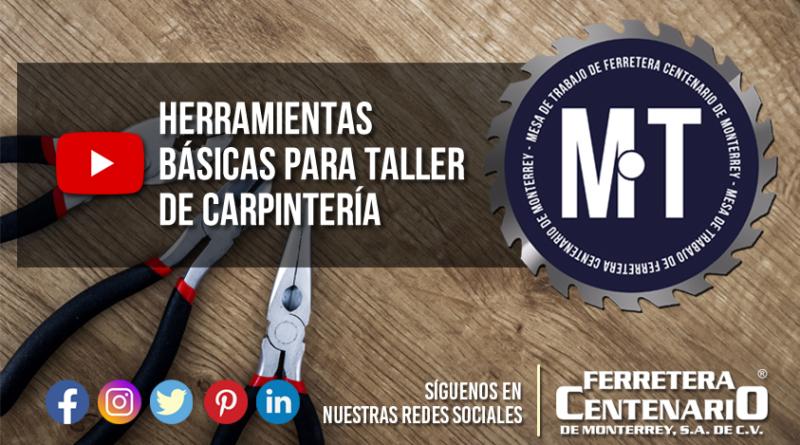 herramientas basicas carpinteria