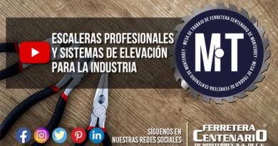 escaleras profesionales industriales Cuprum