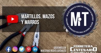 herramientas manuales martillos mazos marros Surtek Ferertera Centenario Monterrey