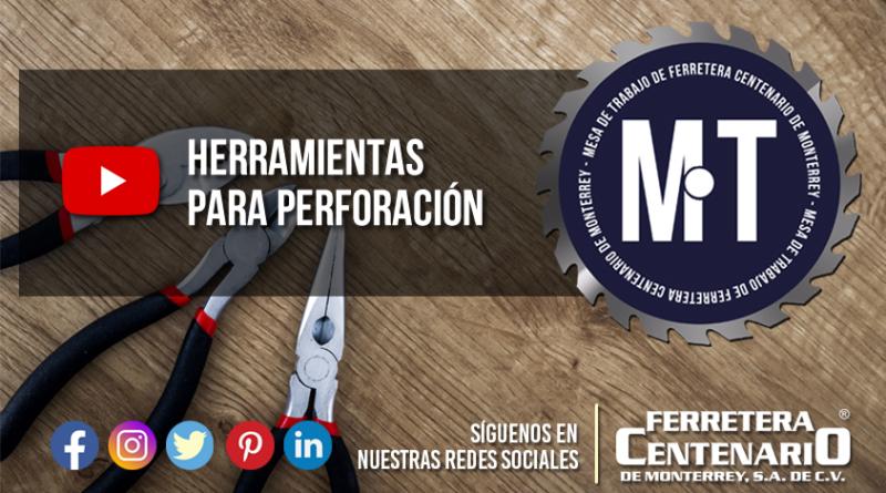 herramientas de perforacion de metal