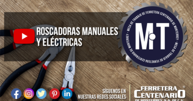 roscadoras manuales electricas